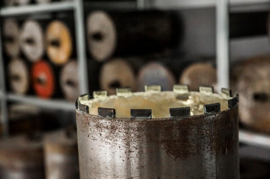 Kernbohrungen in Stahlbeton